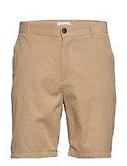 Felix Corduroy Light Shorts - LIGHT BROWN MELANGE