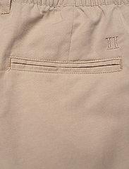 Les Deux - Pino Linen-Tencel Shorts - chino's shorts - dark sand - 4