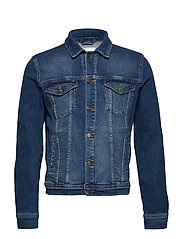 Frederique Denim Jacket - BLUE JEANS