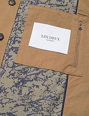 Les Deux - Marley Cotton Coat - wełniane płaszcze - stone brown - 4