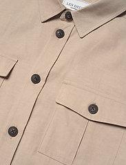 Les Deux - Howard Linen-Tencel Hybrid - vestes légères - dark sand - 2