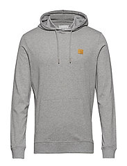 Boozt T-shirt Hoodie - GREY MELANGE