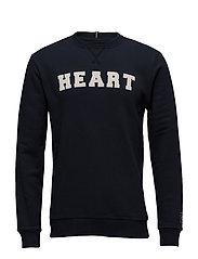 Honolulu Sweatshirt - NAVY/WHITE