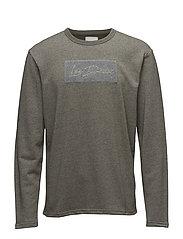 Tache Sweatshirt - STONE GRAY MOULINé