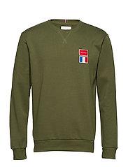 National Sweatshirt - DARK GREEN