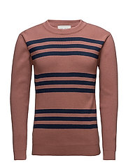 Barbés Knitwear - SOFT PURPLE/NAVY