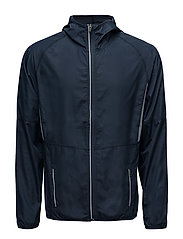 Run Jacket Men - BLACK IRIS