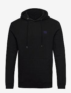 Boozt Piece Hoodie - basic sweatshirts - black/dark navy-black