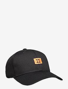 Boozt Piece Baseball Cap - kepsar - black/orange-black