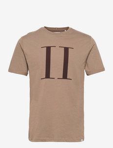 Encore T-Shirt SMU - kortærmede t-shirts - mountain grey/dark brown