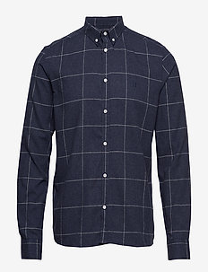 Desert Shirt - DARK NAVY CHECK