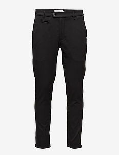 Suit Pants Como - dressbukser - black