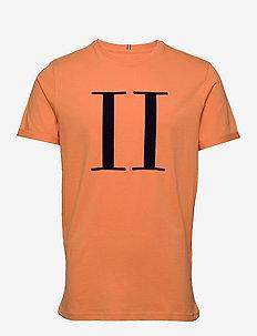 Encore T-Shirt - korte mouwen - dark papaya/dark navy