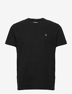 Piqué T-Shirt - basic t-shirts - black