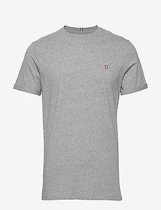 Nørregaard T-Shirt - basic t-shirts - grey melange