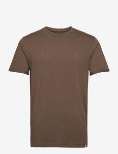 Nørregaard T-Shirt - basic t-shirts - mountain grey/orange
