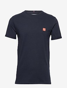Piece T-Shirt - DARK NAVY/PAPAYA