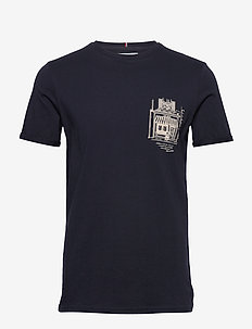 Boutique T-Shirt - DARK NAVY/OFF WHITE
