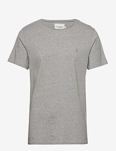 Austin Loose Fit T-Shirt - GREY MELANGE