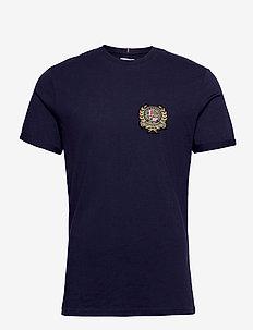 Egalité T-Shirt - t-shirts basiques - dark navy with multicolor artwork