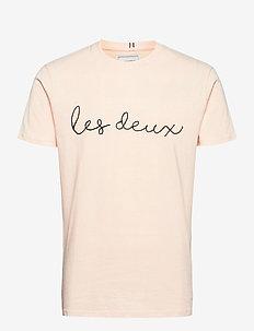 Grand T-Shirt - korte mouwen - off white/dark navy