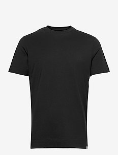 Aiden Pima Cotton T-Shirt - basic t-shirts - black