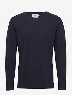 Austin loose fit LS t-shirt - DARK NAVY