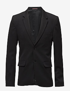 Como Blazer - single breasted blazers - black