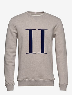 Encore Sweatshirt - basic-sweatshirts - light brown melange/navy