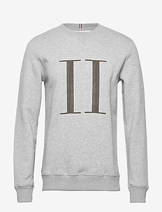 Encore Sweatshirt - basic-sweatshirts - light grey melange/medium grey