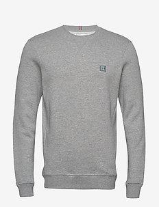 Piece Sweatshirt - GREY MELANGE/LIGHT PETROL