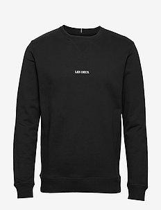 Lens Sweatshirt - overdele - 0101-black