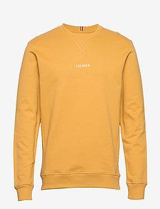 Lens Sweatshirt - YELLOW/WHITE