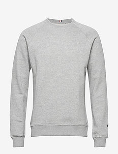 Calais Sweatshirt - basic-sweatshirts - grey melange