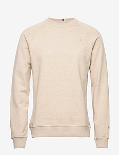 Calais Sweatshirt - basic-sweatshirts - light brown melange