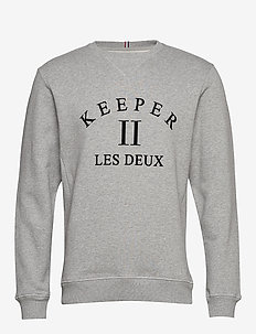 Keeper Sweatshirt - 320320-GREY MELANGE