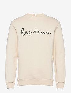 Grand Sweatshirt - oberteile - off white/dark navy