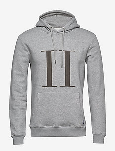 Encore Hoodie - basic-sweatshirts - light grey melange/medium grey