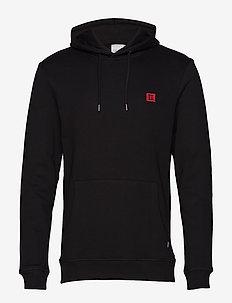 Piece Hoodie - basic sweatshirts - black/red