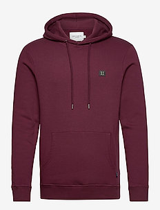 Piece Hoodie - basic sweatshirts - burgundy/charcoal-mint