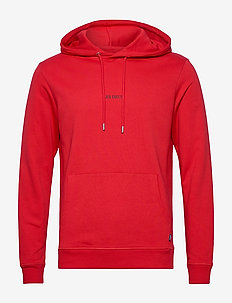 Lens Hoodie - hættetrøjer - red/black