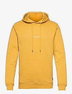 Lens Hoodie - hoodies - yellow/white