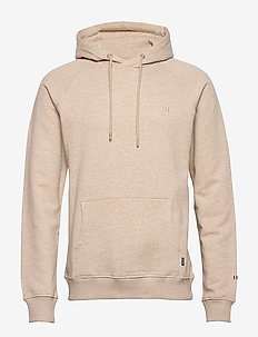 Calais Hoodie - basic-sweatshirts - light brown melange