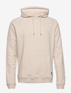 Calais Hoodie - basic sweatshirts - off white