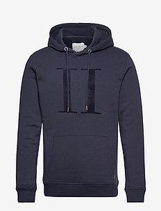 Encore Bouclé Hoodie - hoodies - dark navy