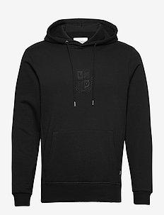 Shield Hoodie - basic sweatshirts - black