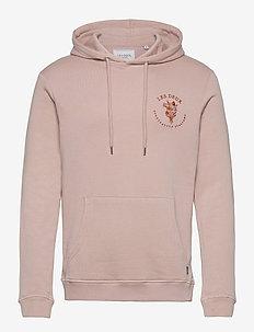 Sprezzatura Hoodie - basic-sweatshirts - dusty rose/rust red