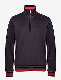 Couterly Track Jacket - DARK NAVY/RED