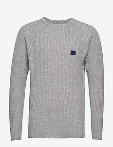 Piece Wool Knit - GREY MELANGE