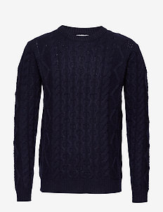 Pigalle Cable Knit - DARK NAVY